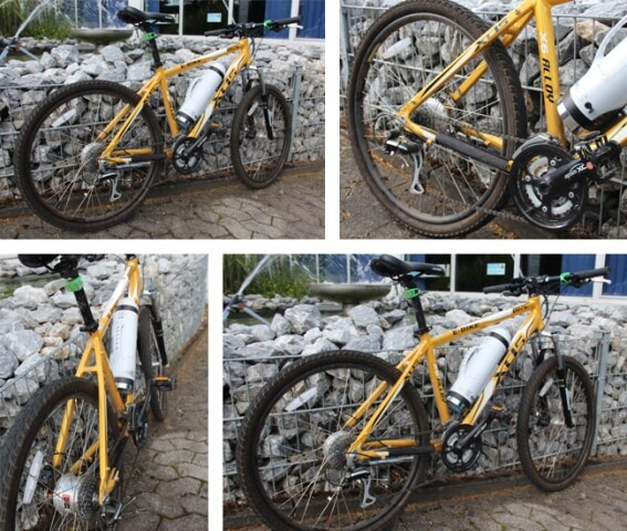 yellow bike threading